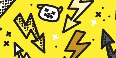 smycz-miejska-dla-psa-hauever-yellow-dog-project-pies-asystujacy-trenujacy-zolta-smycz-przepinana-napisem-uwaga-grozny-agresywny-chory-pracujacy