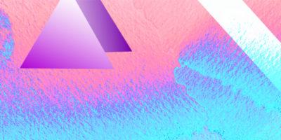 hologram-pink-roz-triangles-trojkaty-obroza-dla-psa-smycz-szelki-hauever