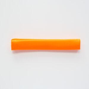 SALE / Rączka neoprenowa na rzep 20mm NEONOWY POMARAŃCZ