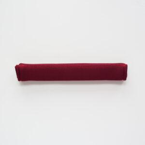 SALE / Rączka neoprenowa na rzep 15mm BORDO